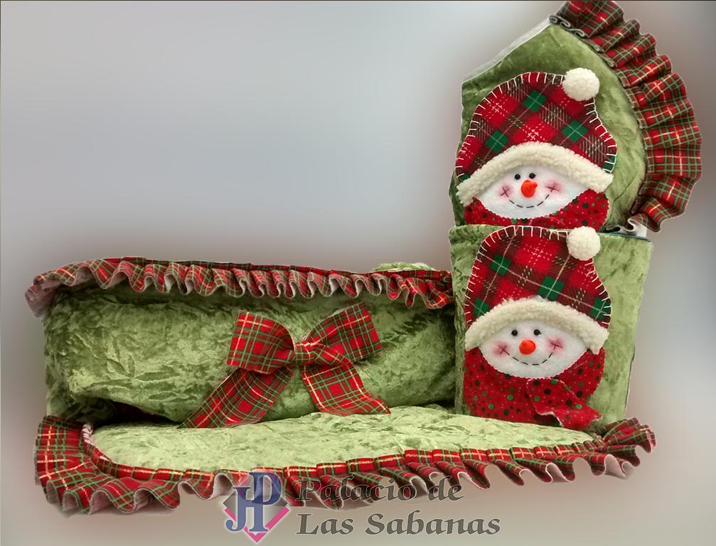 Juegos De Baño Para Navidad:Juego de Baño Navidad Muñeco Nieve Verde