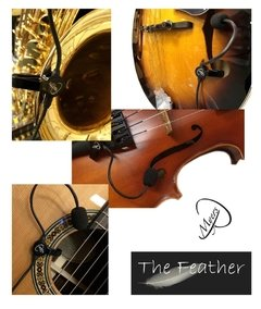 "Imagem do Captador ATIVO multi-instrumento haste longa  MYERS - ""The Feather"""