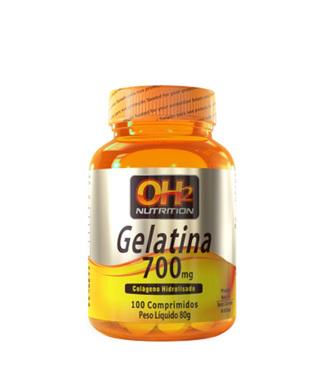 Gelatina - 100 Comprimidos ( 700 mg ) - OH2 Nutrition