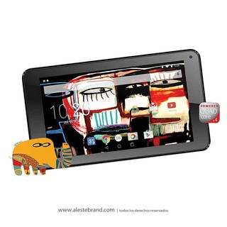 Tablet Pc Ken Brown 7 Hd Quad Core Ulysses