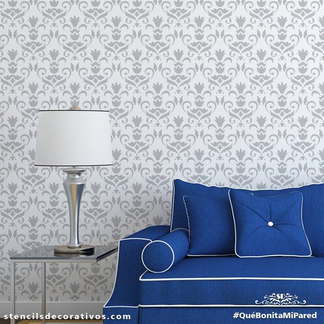 Plantillas para pintar cool plantillas para pintar trendy plantillas decorativas para pintar - Plantillas decorativas para pintar paredes ...