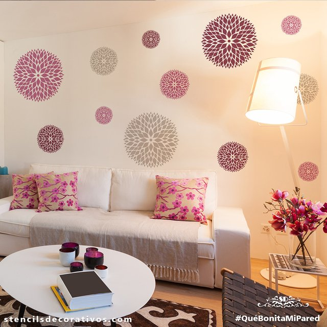 Plantillas para decorar paredes infantiles plantillas - Plantillas decorativas pared ...