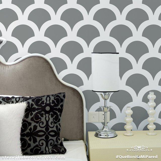 Moldes para pintar paredes como pintar paredes apps Plantillas decorativas ikea