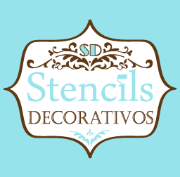 SD Stencils Decorativos -Plantillas decorativas para pintar paredes u otras superficies.