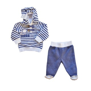 Black And Blue- conjunto- 6 meses