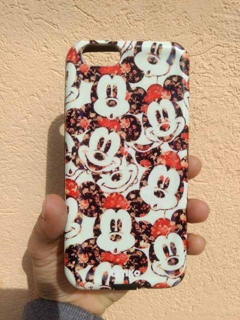 Funda Rígida Flower Mickey