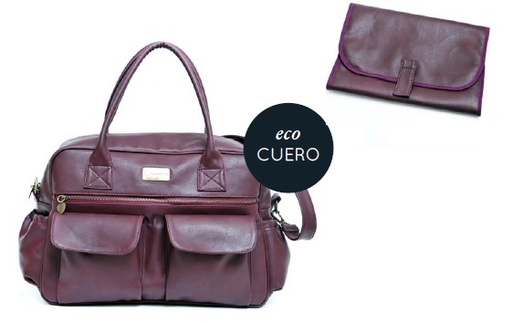 Bolso HAPPY LITTLE MOMENTS Ecocuero Bordeaux