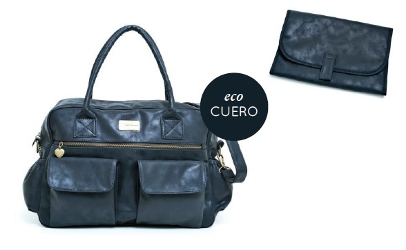 Bolso HAPPY LITTLE MOMENTS Ecocuero Negro - comprar online