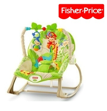 Silla mecedora FISHER PRICE Rainforest Friends
