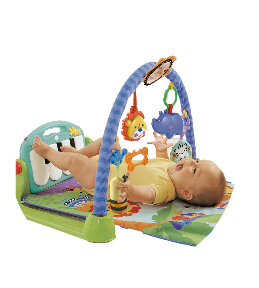 Gimnasio Piano Celeste Funny Smile simil Fisher Price - comprar online