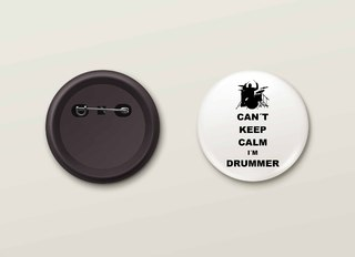 Botton H.Drums - HDBO0004