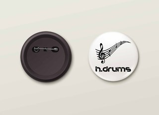 Botton H.Drums - HDBO0008
