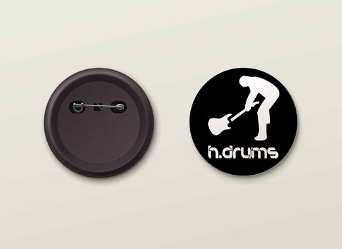 Botton H.Drums - HDBO0012
