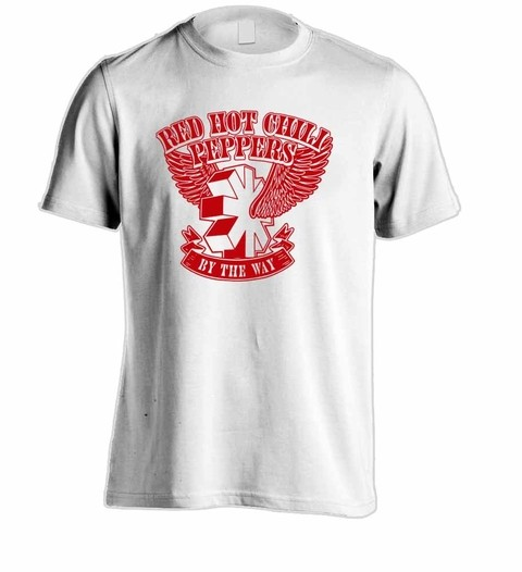Camiseta Red Hot Chili Peppers - RH0001 - ZN STORE