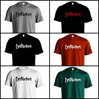 Camiseta Destruction - DE0001