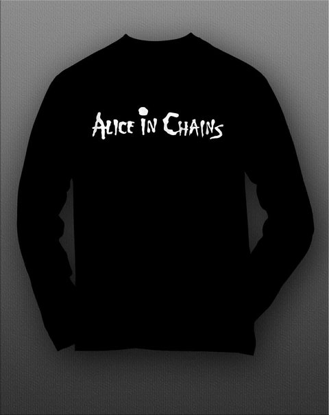 Imagem do Camiseta Manga Longa Alice in chains - ASML0002