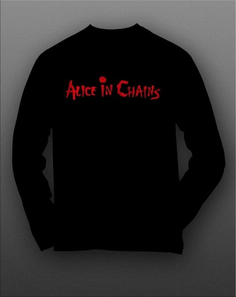 Camiseta Manga Longa Alice in chains - ASML0002