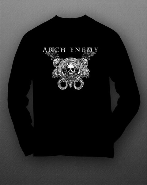 Imagem do Camiseta Manga Longa Arch Enemy - AEML0002