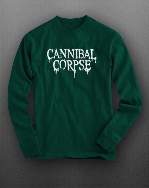 Imagem do Camiseta manga longa Cannibal Corpse - CNML0001