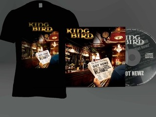 KIT Camiseta + CD King Bird - GOT NEWZ - MSKIT0001 - comprar online