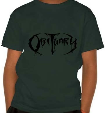 Camiseta Infantil Obituary OB0002i na internet