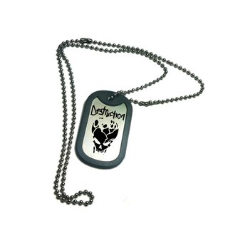 Tag Militar Destruction DSTG0001