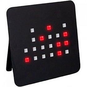 RELOJ DE PARED LED BINARIO