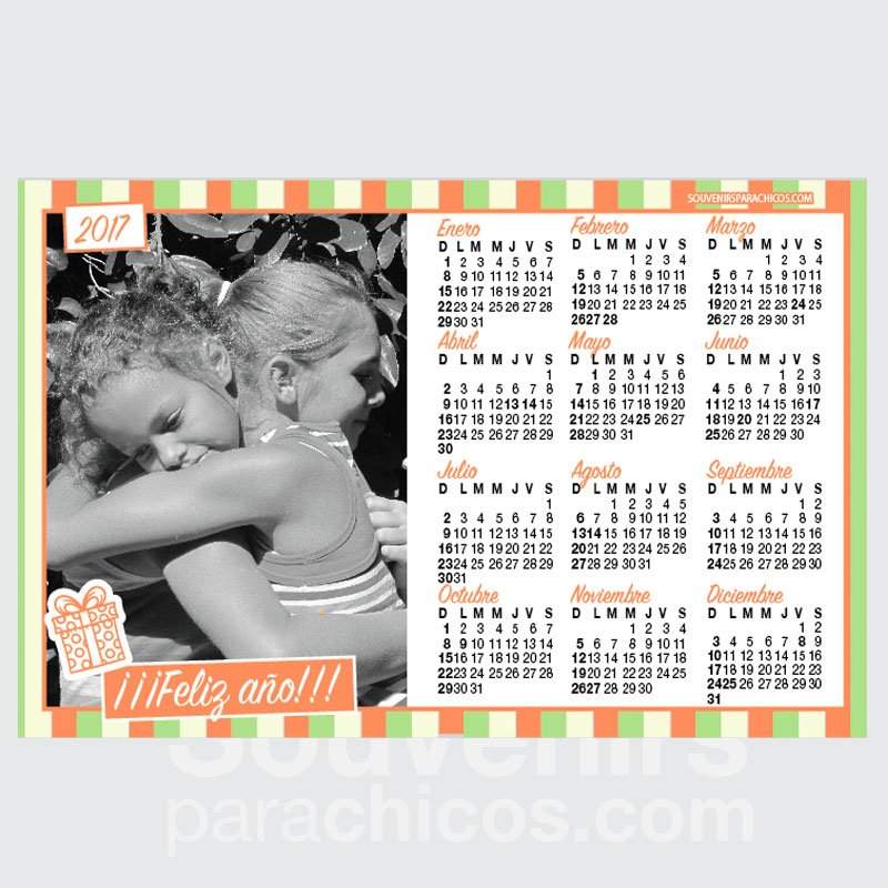 20% OFF - 12 CALENDARIOS 14x20cm