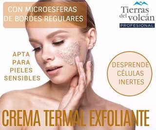 Crema Termal Exfoliante Piel Sensible