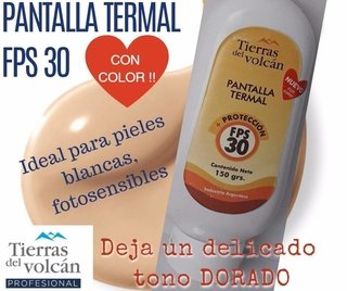 Pantalla Termal F30 CON COLOR
