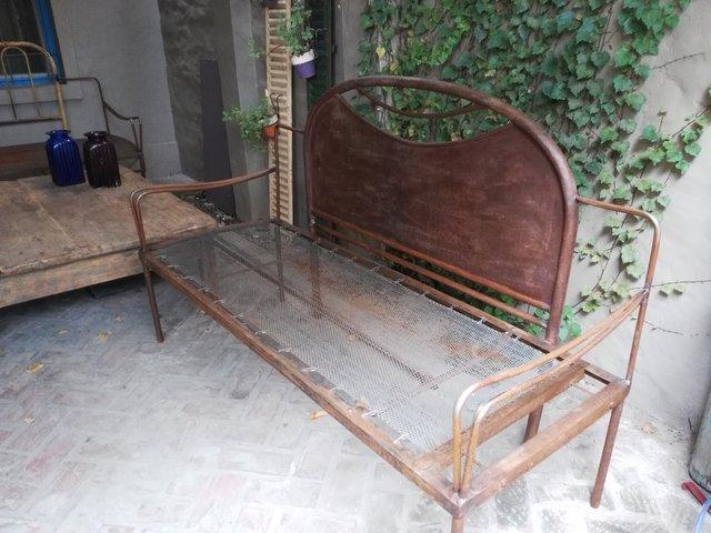 Camastro de hierro comprar en santomercado for Camastros de hierro para jardin