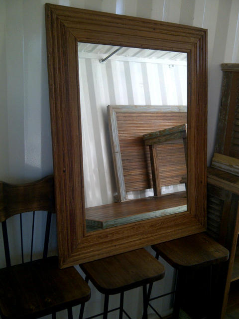 Marcos de madera para cuadros o espejos santomercado for Espejo marco madera