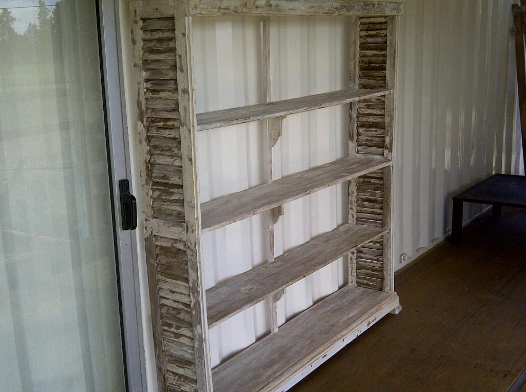 Biblioteca de madera de demolici n santomercado - Bibliotecas de madera ...