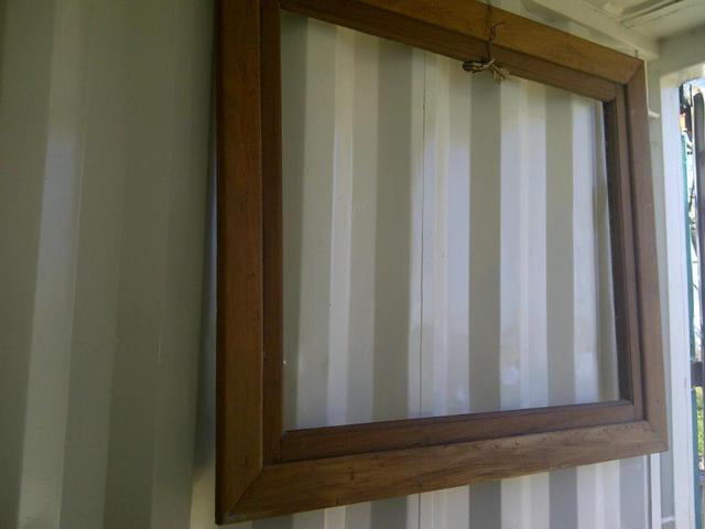 Marco de madera para espejo o cuadro santomercado - Espejos marco madera ...