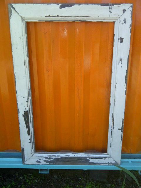 Marco de madera para espejo comprar en santomercado for Espejo pared marco blanco