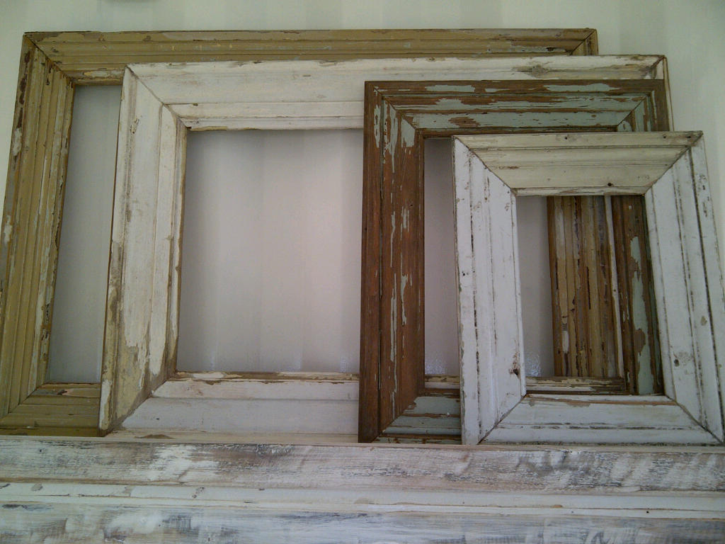 Marcos de madera para cuadros o espejos santomercado for Espejos decorativos de madera