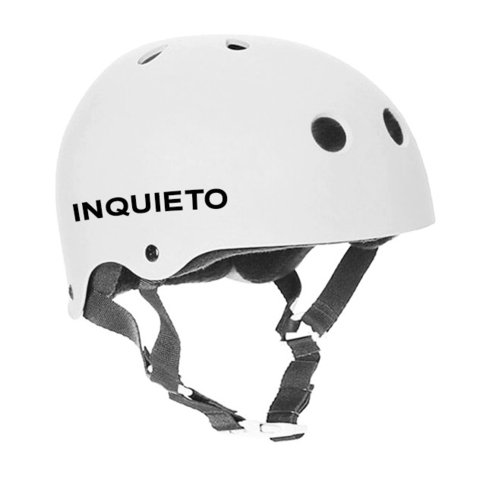 Casco Inquieto blanco