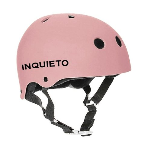 Casco Inquieto rosa