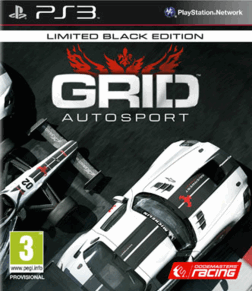 GRID AUTOSPORTS BLACK EDITION PS3