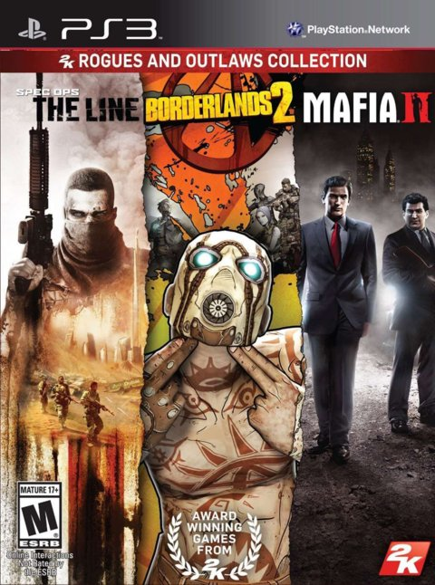 3 EN 1 -SPEC OPS THE LINE - BORDERLANDS 2 - MAFIA 2 PS3