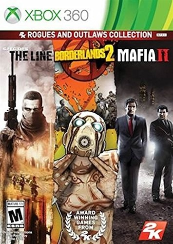 3 EN 1 -SPEC OPS THE LINE - BORDERLANDS 2 - MAFIA 2 XBOX 360 - comprar online