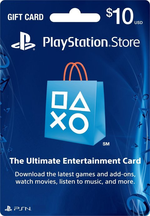 PSN CARD $10 USA - comprar online