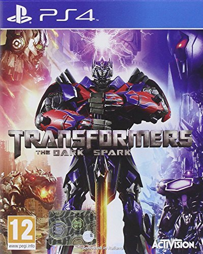 TRANSFORMERS RISE OF THE DARK SPARK Ps4 - comprar online