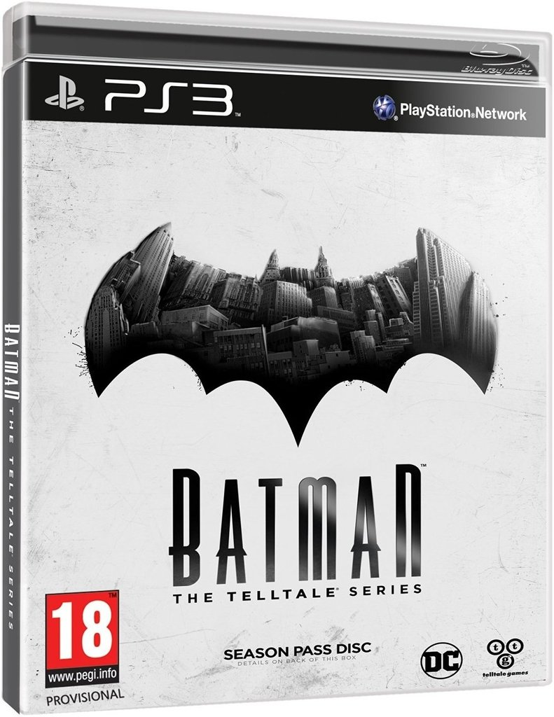 BATMAN THE TELLTALE SERIES PS3 - comprar online