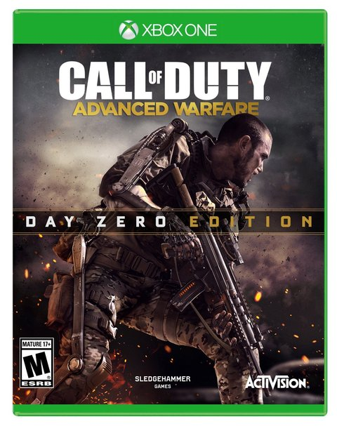CALL OF DUTY ADVANCED WARFARE XBOX ONE - DAY ZERO EDITION