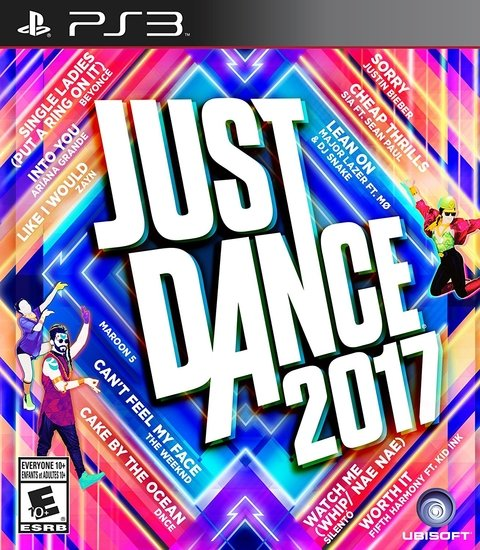 JUST DANCE 2017 PS3 - comprar online