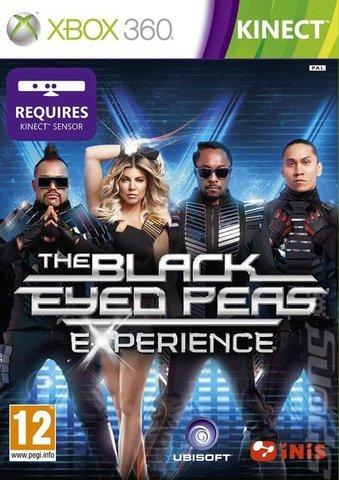 KINECT THE BLACK EYED PEAS EXPERIENCE XBOX 360
