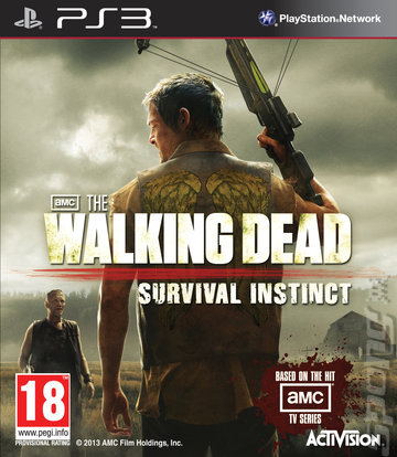 THE WALKING DEAD SURVIVAL INSTINCT PS3