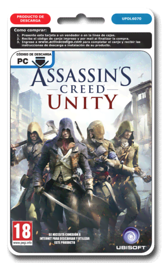 ASSASSINS CREED UNITY - PC DIGITAL