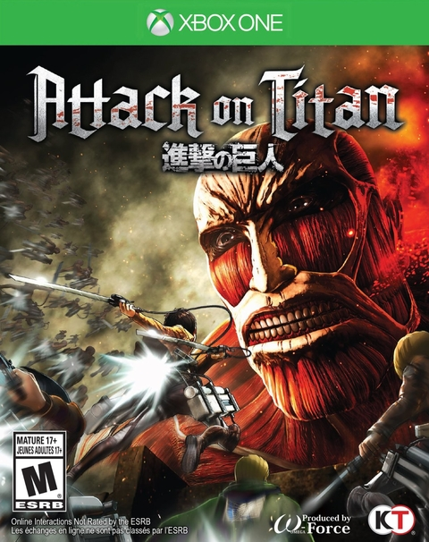 ATTACK ON TITAN XBOX ONE - comprar online